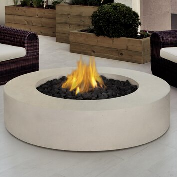 Real Flame Mezzo Propane Fire Pit Table Amp Reviews Wayfair