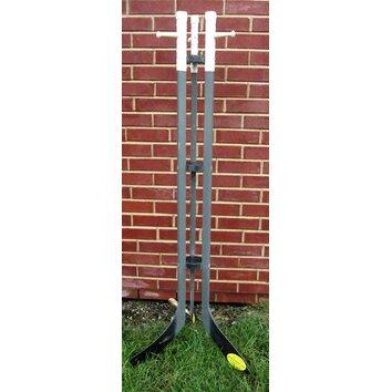 Ski Chair Hockey Stick Free Standing Coat Rack Amp Reviews