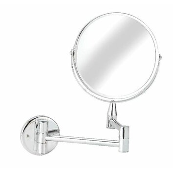 croydex professional bath small magnifying mirror 13563