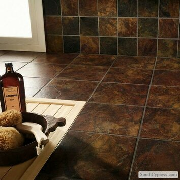 Marazzi Imperial Slate 12 Quot X 12 Quot Ceramic Field Tile In