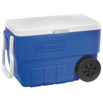 Coleman 50 Qt Wheeled Rolling Cooler Amp Reviews Wayfair