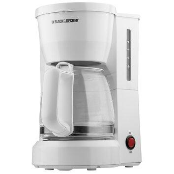 Black & Decker 5 Cup Coffee Maker & Reviews Wayfair