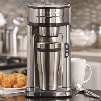 The Scoop Coffee Maker Kohls : Hamilton Beach The Scoop Single Serve Coffee Maker & Reviews Wayfair