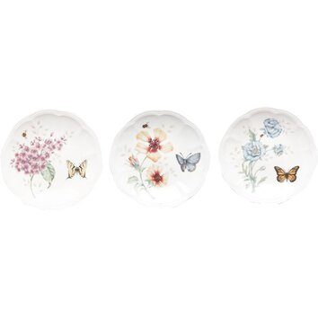 Lenox Butterfly Meadow 6 Quot Party Plate Amp Reviews Wayfair