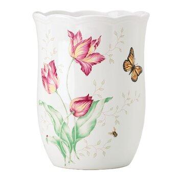 Lenox Butterfly Meadow Waste Basket Amp Reviews Wayfair