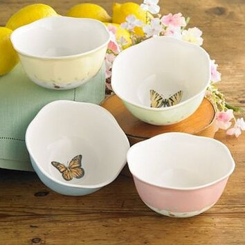 Lenox Butterfly Meadow Dessert Bowl Amp Reviews Wayfair