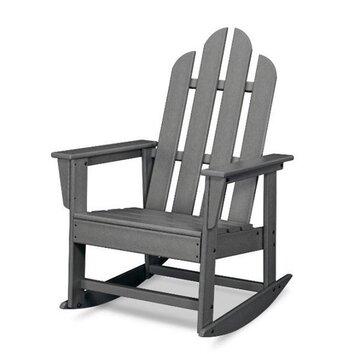 Polywood Long Island Adirondack Rocking Chair Reviews Wayfair