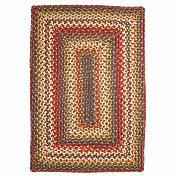 Homespice Decor Sunrose Red Indoor Outdoor Rug & Reviews