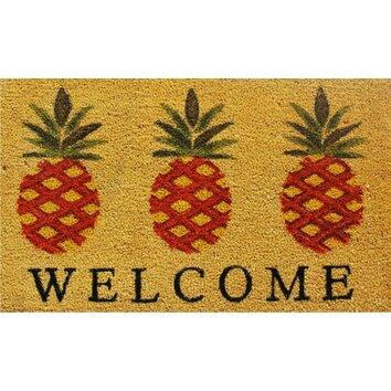 Wildon Home 174 Pineapple Welcome Doormat Amp Reviews Wayfair