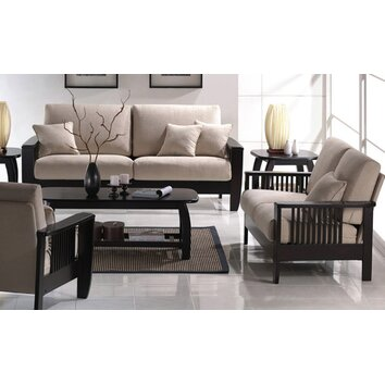 Wildon Home 174 Mission Style Living Room Collection