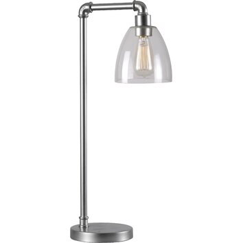Wildon home industrial fitter table lamp for Wayfair industrial lamp