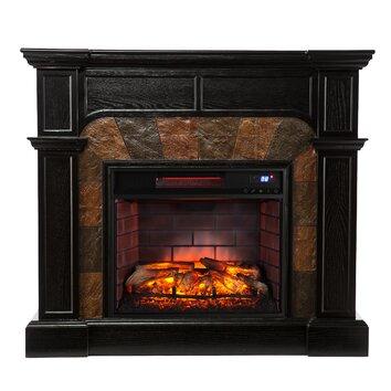Wildon Home Cairns Corner Electric Fireplace Wayfair