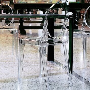 Kartell victoria ghost chair reviews wayfair - Chaise victoria ghost kartell ...
