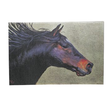 Evergreen Enterprises, Inc Horse On the Run Painting Print ...