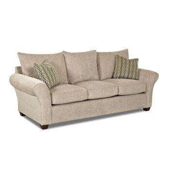 """Klaussner Furniture Finn Queen Dreamquest 96"""" Sleeper Sofa & Reviews"""