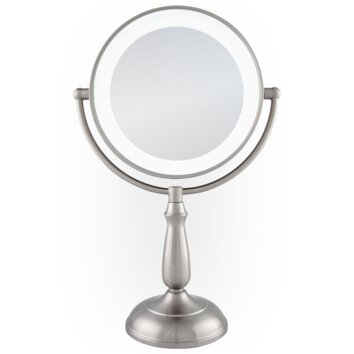 Vanity Planet Led Light Review : Zadro Dimmable Touch Ultra Bright Dual-Sided LED Lighted Vanity Mirror & Reviews Wayfair