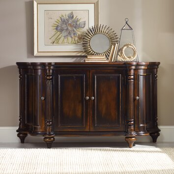 Hooker Furniture Eastridge Shaped Credenza Amp Reviews Wayfair