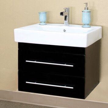 Bellaterra Home Pickering 25 Quot Single Wall Mounted Bathroom