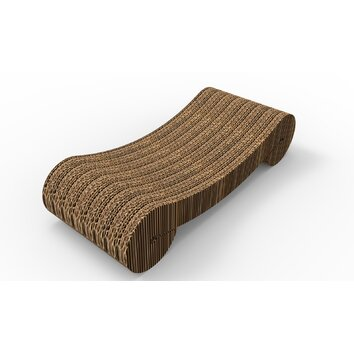 Merry products scratching board reviews wayfair for Chaise lounge cat scratcher