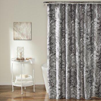 Lush Decor Forest Shower Curtain Reviews Wayfair
