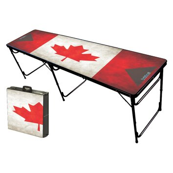 Party Pong Tables Canada Folding And Portable Beer Pong