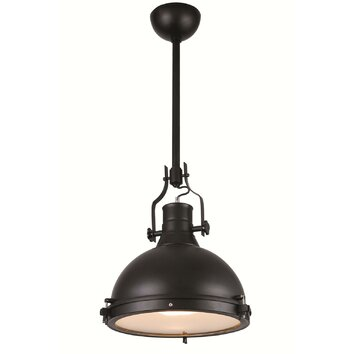 Elegant lighting industrial 1 light mini pendant reviews for Wayfair industrial lamp