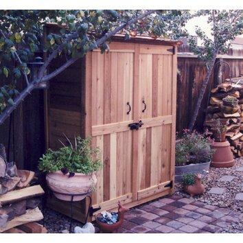 Outdoor Living Today Garden Chalet 4 Ft W X 2 Ft D Wood
