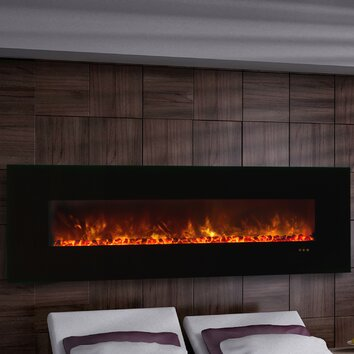 modern flames clx series ambiance custom linear delux wall mount electric fireplace reviews. Black Bedroom Furniture Sets. Home Design Ideas