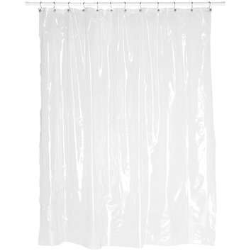 Carnation Home Fashions Vinyl Shower Curtain Liner Reviews Wayfair