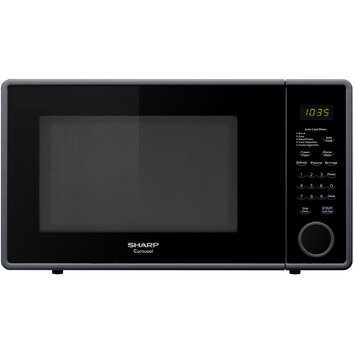 Countertop Microwave Reviews : Sharp 1.1 Cu. Ft. 1000W Countertop Microwave & Reviews Wayfair