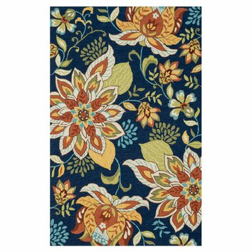 Loloi Rugs Francesca Blue Floral Area Rug Amp Reviews Wayfair