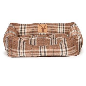 Danish Design Newton Truffle Snuggle Pet Bed In Brown