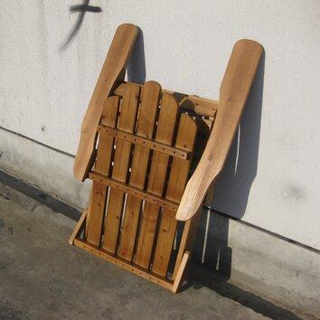 String Light Co Wood Folding Adirondack Chair Amp Reviews