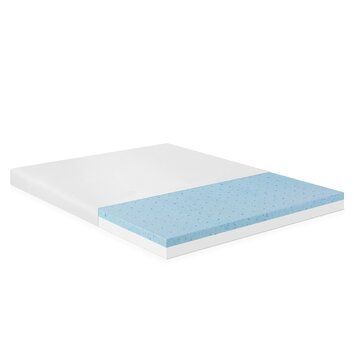 furinno healthy sleep 4 visco elastic gel memory foam. Black Bedroom Furniture Sets. Home Design Ideas