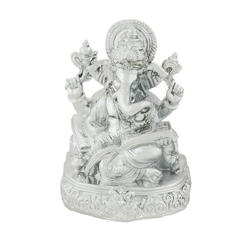 wall paper for living room woodland imports ganesh figurine wayfair 21445