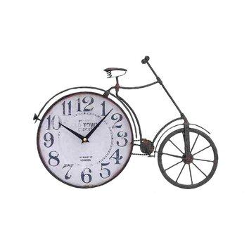 Woodland Imports Metal Bicycle Quartz Standing Clock