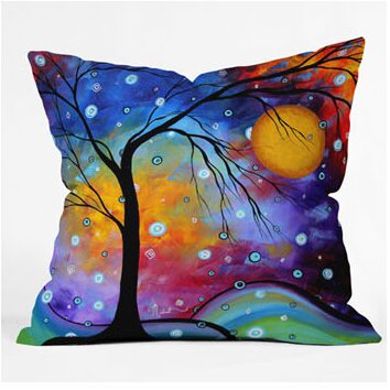 deny designs madart inc winter sparkle euro pillow wayfair 13095 | custom image