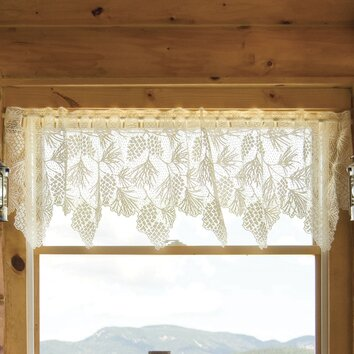 Heritage Lace Woodland 60 Quot Curtain Valance Amp Reviews Wayfair