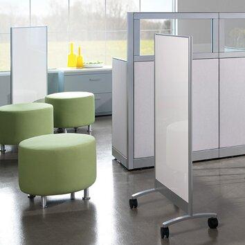 Steelcase Groupwork Screen Mobile Free Standing Whiteboard
