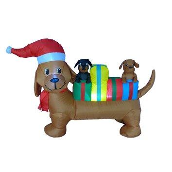 Bzb Goods 4 Foot Long Christmas Dog Decoration Amp Reviews
