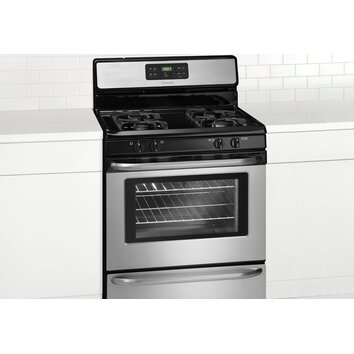 Frigidaire 5 cu ft gas range reviews wayfair for Frigidaire armoire