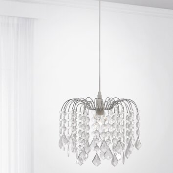paul neuhaus kristall pendelleuchte 1 flammig jelly reviews. Black Bedroom Furniture Sets. Home Design Ideas
