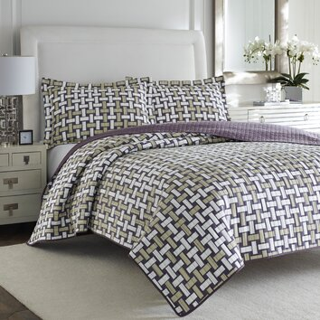 Adrienne vittadini serene quilt set reviews wayfair for Adrienne chaise lounge