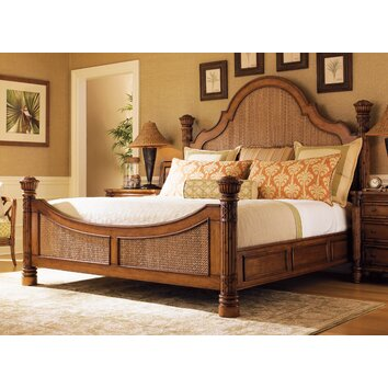 astounding tommy bahama bedroom furniture white | Tommy Bahama Home Island Estates Panel Bed & Reviews | Wayfair