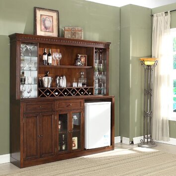 Eci Furniture Manchester Back Bar With Wine Storage Reviews Wayfair
