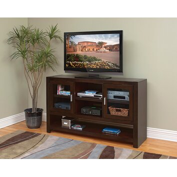 Kathy ireland home by martin furniture carlton tall tv stand reviews wayfair for Tall white tv stand for bedroom
