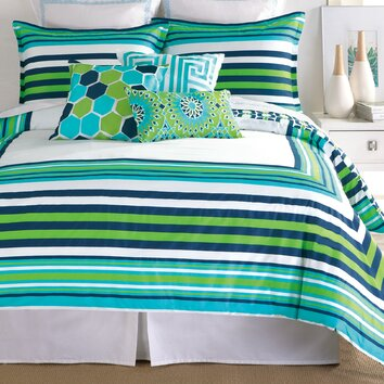Trina Turk Residential Huntington Stripe Bedding Comforter