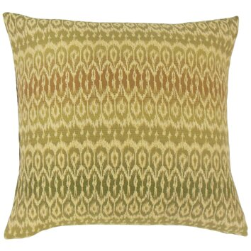 Wayfair Decorative Pillow Covers : The Pillow Collection Dehateh Ikat Throw Pillow & Reviews Wayfair