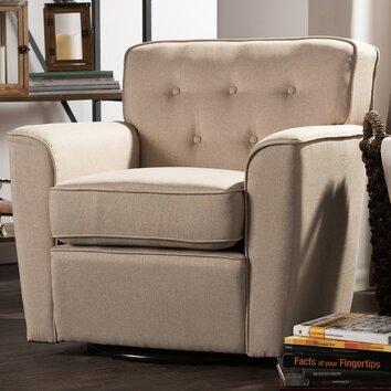 Wholesale Interiors Baxton Studio Retro Upholstered Lounge