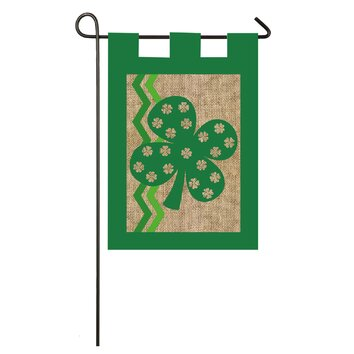 Evergreen Flag Amp Garden St Pat Garden Flag Amp Reviews